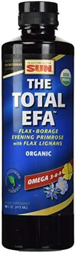 Health from the Sun Total EFA Vegetarian/Lignan 16 Ounce