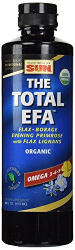 Health From The Sun Lignon Vegetarian Total Essentielle Fettsäure mit Organischen Inhaltsstoffen 473 ml