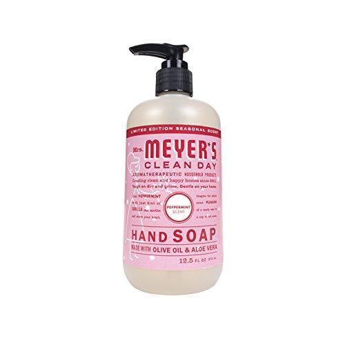 MRS MEYERS Liquid Hand Soap, Peppermint, 12.5 Ounce