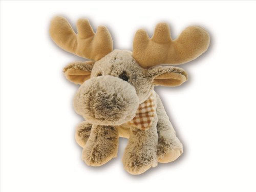 Christmas FLOPPY MOOSE ~ 12'' Soft CUDDLY Stuffed Animal~ Feel Good HOLIDAY Gift~ Toy ~ Christmas Birthday Gift Child Baby Adult neice Daughter Son Grandkids ~ New
