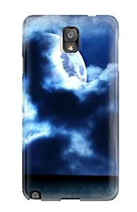 New HxtOfuq3464OPogb Scary Tpu Cover Case For Galaxy Note 3