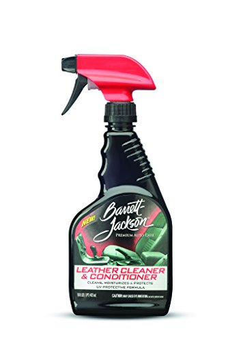 Barrett-Jackson Car Leather Cleaner, Leather Seat Cleaner and Car Leather Conditioner - with UV Protectant - for Premium Car Leather Care, 9953, 16 oz.