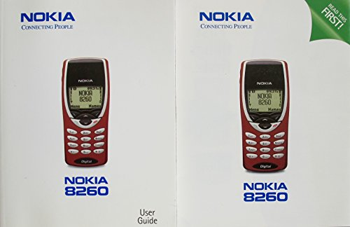 Nokia User Guide for 8260 Cellular Phone