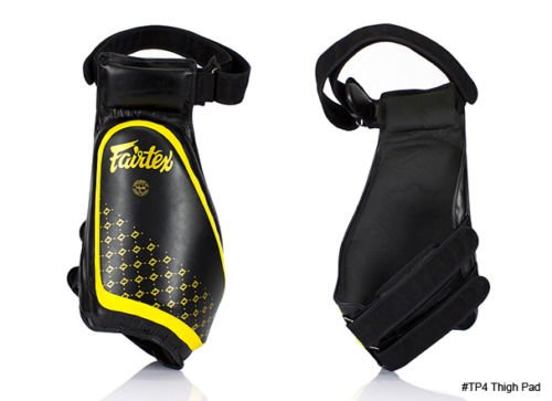 GENUINE Fairtex COMPACT And Lightweight Thigh Pads TP4 BEST MMA EQUIPMENT, FREE DHL EXPRESS UPGRADE FOR NON REMOTE AREA ADDRESS by Fairtex