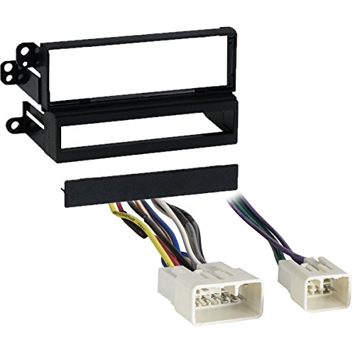Metra 99-8140 Single/Double DIN Dash Kit + Harness for Select 1989-2002 Toyota