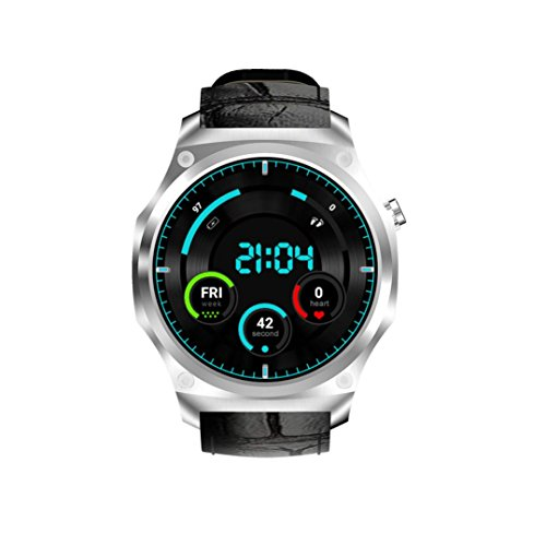 Price comparison product image SUKEQ 3G Smart Watch,  Bluetooth 3G Android 5.1 MTK6580 1+16GB Nano SIM WIFI Smart Watch with Call Heart Rate Monitor Pedometer Alarm clock For Android
