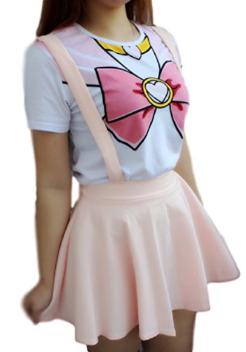 GK-O Japanese Anime Sailor Moon Style T-Shirt