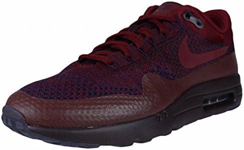Nike Men Air Max 1 Ultra Flyknit (grand purple team red deep burgundy)