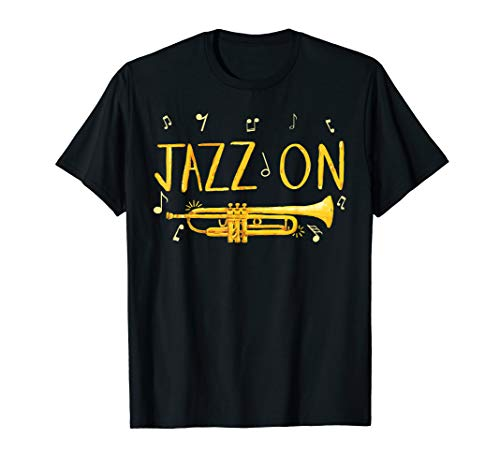 Jazz music t shirt - Gift for Jazz lover and Trumpet player