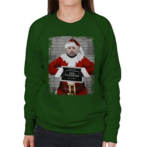 Sweatshirt Mugshot Green Karl Christmas Coto7 Pilkington Women's Bottle fvOZw