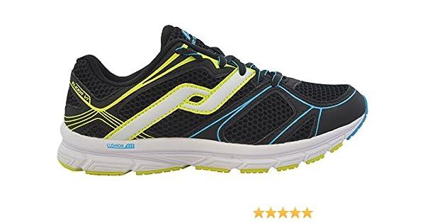Intersport Pro Touch Zapatillas de Run Elexir 6 Jr – Negro/Azul/Amarillo, 39: Amazon.es: Deportes y aire libre