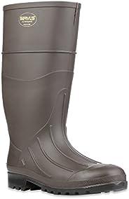 "Servus 15"" PVC Polyblend Soft Toe Men's Work Boots, Brow"