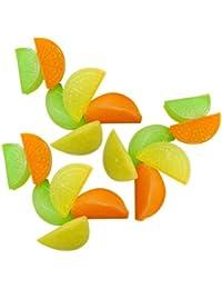 Access (30 Pack) ChefLand Reusable Fruit Shape Plastic Ice Cubes saleoff