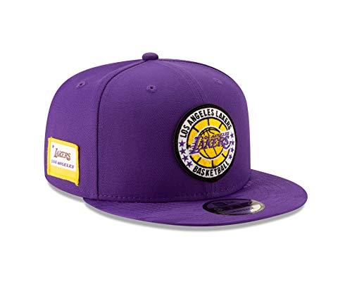 New Era Los Angeles Lakers 2018 NBA Tip-Off Series 9FIFTY Snapback Adjustable Hat - Purple (Purple New Era)