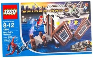 LEGO Spider-Man 2: Doc Ock's Hide-Out (4856)
