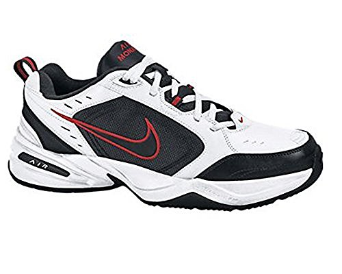 info for e9349 113f7 Nike Air Monarch Iv 415445 White Black-Varsity Red Style  415445-101