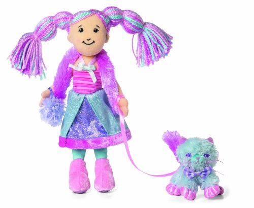 - Manhattan Toy Groovy Girls freaturing Candy Kingdoms  Fatina and Fluffy Cotton Candy Kitty