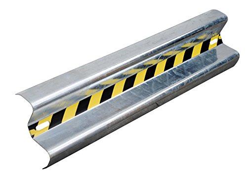 (Vestil GR-4 Galvanized Straight Guard Rail, 48