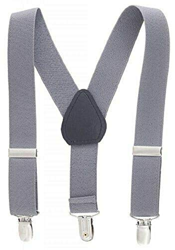 Light Gray Kids Toddlers Suspenders Fashion Boys Girls US Ship Free Size Tkmiss from Unknown