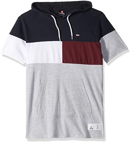 Jual Southpole Men s Short Sleeve Hooded Fashion Tee - T-Shirts ... 46e4102ca