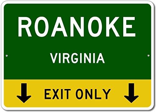 Ditooms Quality Aluminum Sign Roanoke Virginia US This