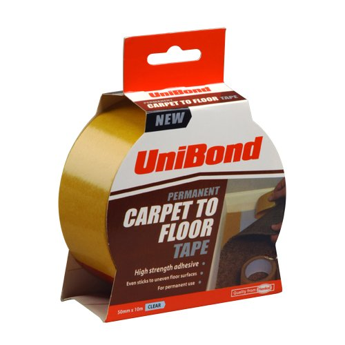 - Unibond Carpet Tape Permanent 50 mm x 10m