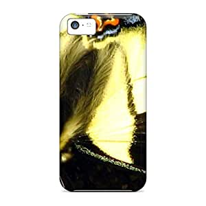 New Arrival Black Yellow Butterfly Lze4938oyqB Cases Covers/ 5c Iphone Cases