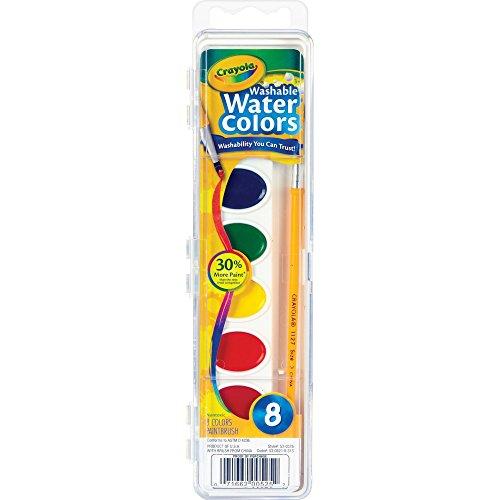 Crayola Washable Watercolors 8 ea