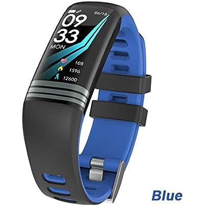 ZCPWJS smart wristband G26 Plus Smart Bracelet Color Screen Fitness Activity Tracker Waterproof Smart Wristband Blood Pressure Smart Band Blue Estimated Price £38.73 -