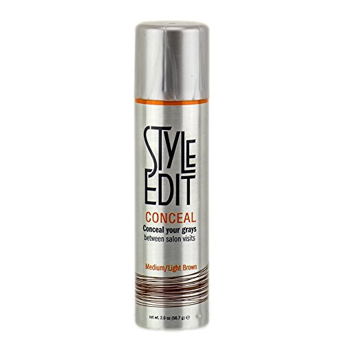 Style Edit Medium Root Concealer, Light Brown, 2 Ounce by Style Edit