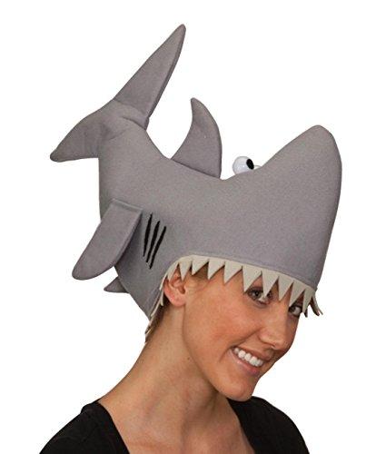 Man Eater Shark Hat (Vertical Shark Hat by FunHats)