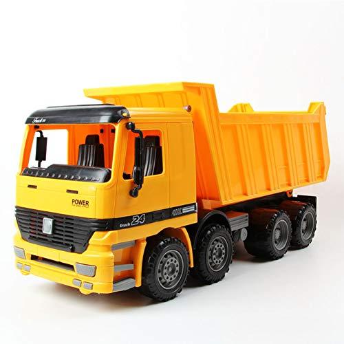 Mababys Niño Carro Juguete Camión volquete de Playa para niños, camión Grande Transporte de inercia Modelo de Carro de...