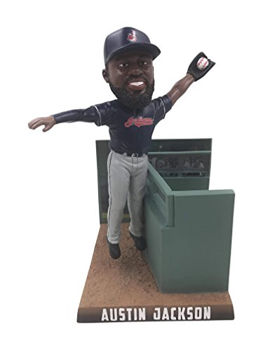 (Forever Collectibles Austin Jackson Cleveland Indians 2017 Catch of the Year Bobblehead MLB)