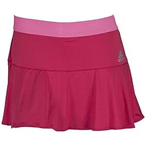 adidas Women's Adizero Skort-Large-Bold Pink/Solar Pink/Tech Silver