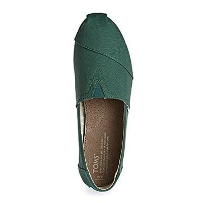 TOMS - Womens Apalgrata Slip-On Shoes, Size: 9 B(M) US, Color: Blue Spruce