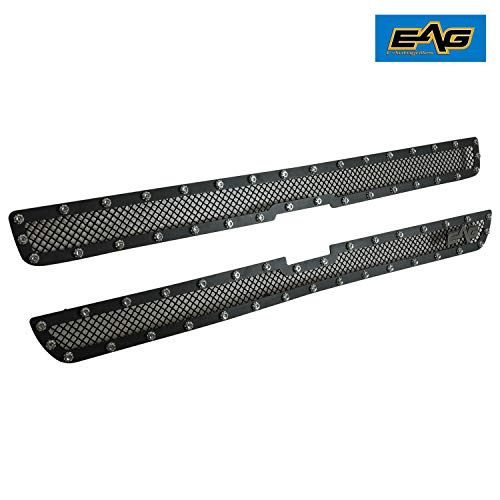 EAG Rivet Stainless Steel Wire Mesh Grille for 99-02 Chevy Silverado 1500