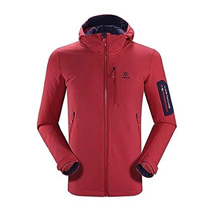 Image of KAILAS Men's Softshell Jacket Waterproof Windproof Outdoor Cycling Trekking Walking Coat