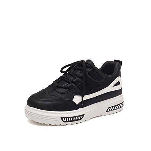 Damen Freizeitschuhe,Koreanische Version Der Kursteilnehmer Dicke Sohlen Sneakers,Primary Bed Shoes,Damenschuhe A