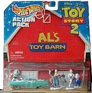 Hot Wheels Toy Story 2 Action Pack, Buzz and Woody