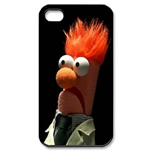 Printed Quotes Phone Case MUPPETS KERMIT PIGGY For iPhone 4,4S Q5A2113329