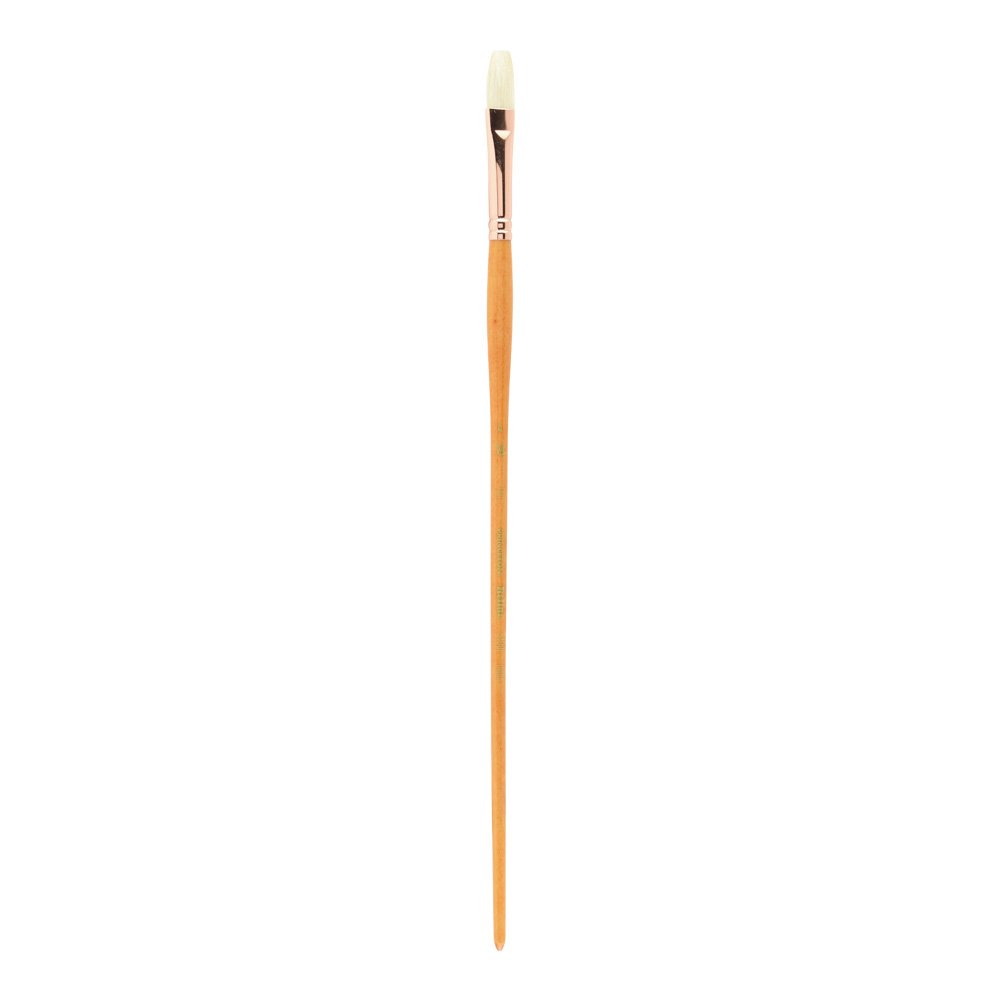 Princeton Art & Brush Co Refine Natural Bristle Oil & Acrylic Brush Flat Flat 4 AV-5400F-4