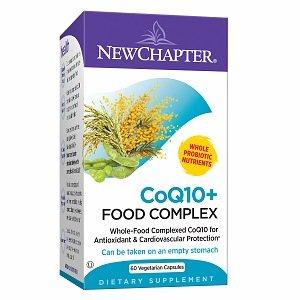 Nouveau chapitre CoQ 10 + Complex alimentaire, 60 Count