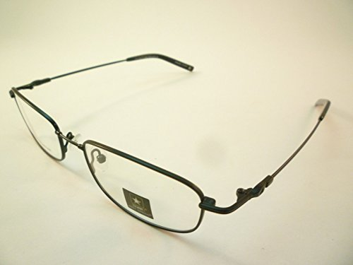 US Army Eyeglasses Army Strong #3 Mens Black Memory Titanium Rectangle Frame - Memory Eyeglass Frames