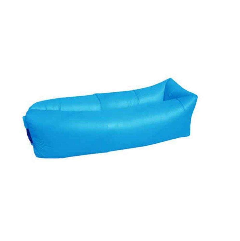 Axiba Camping Picknick Matte im Freien aufblasbaren Kissen Sofabett Portable faul aufblasbares Bett Strand Schlafsack 200x70cm