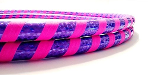 Paradise Hoops Hula Hoop Pair, Mini, Purple/Pink