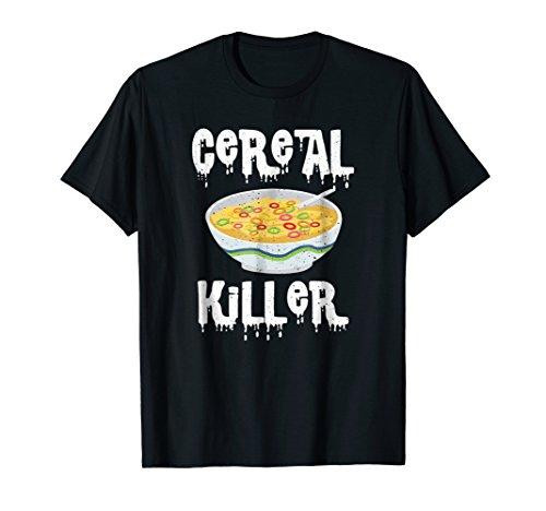 Eating Cereal Killer Shirt - Morning To-Go Breakfast Gift