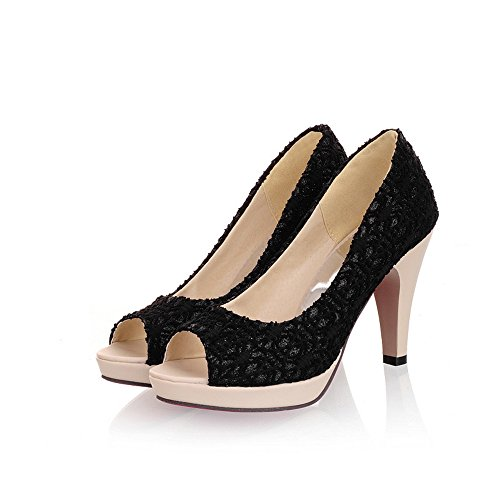 Fashion High Stiletto Heel Women Dressy Court Shoes party work shoes pumps Black