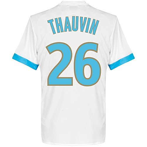 fan products of Olympique Marseille Home Thauvin Jersey 2017 / 2018 (Fan Style Printing) - M