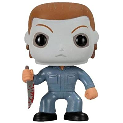 Funko 2296 Pop Movies: Halloween - Michael Myers Action Figure: Funko Pop! Movies:: Toys & Games