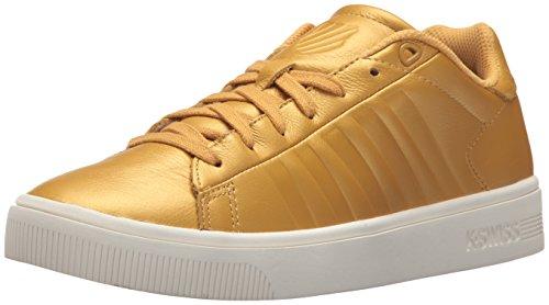 K Swiss Womens Court Frasco Sneaker  Bright Gold Marshmallow  9 5 M Us